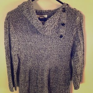 Style and Co sweater/tunic, size M